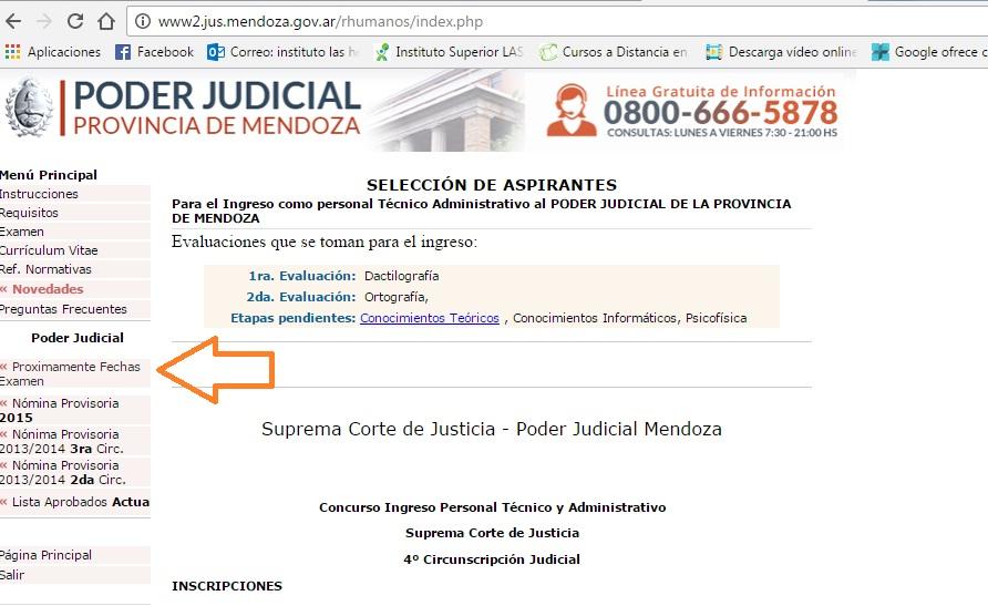 Práctica Ingreso a Tribunales